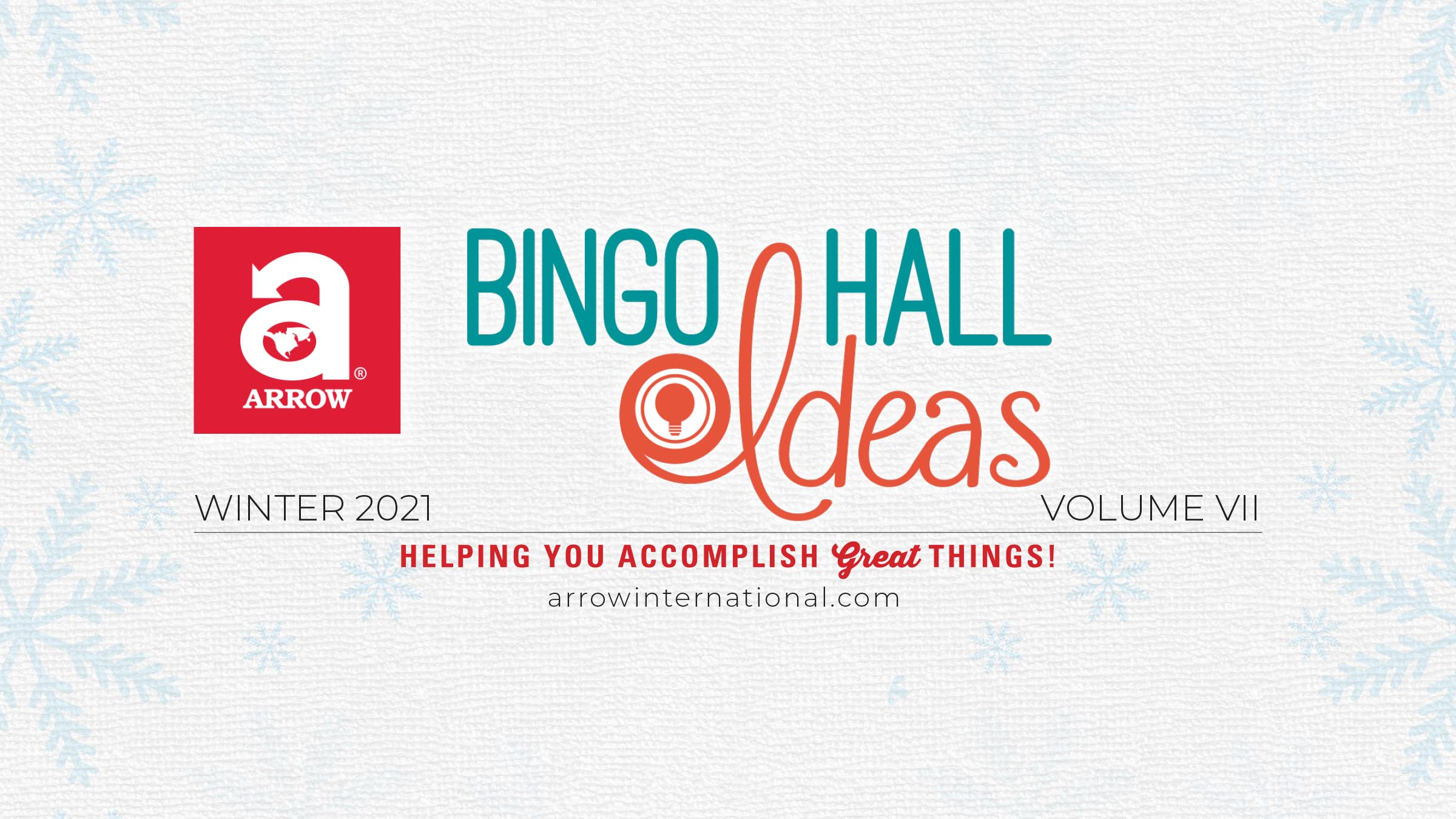 Winter Bingo Hall Ideas