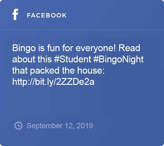 Facebook Social Feed