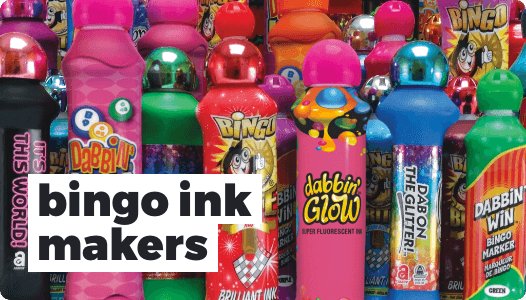 Bingo Ink Markers
