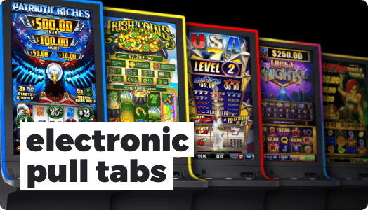 Electronic Pull Tabs