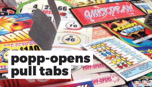 Popp-Opens Pull Tabs