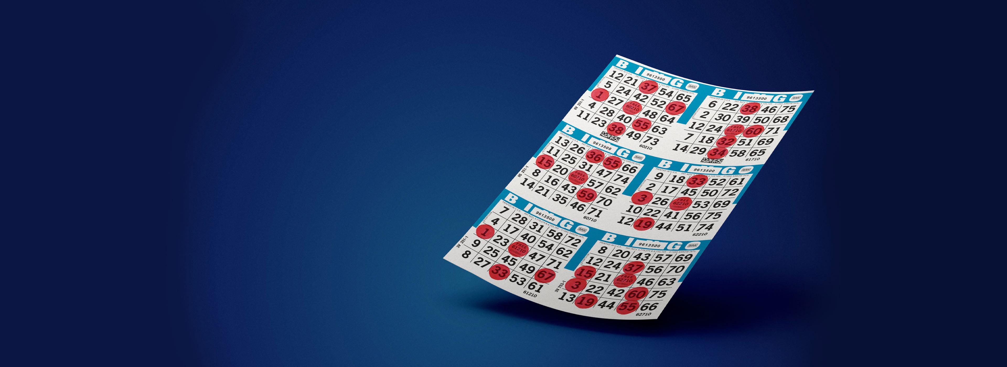 UniMax Bingo Paper Series