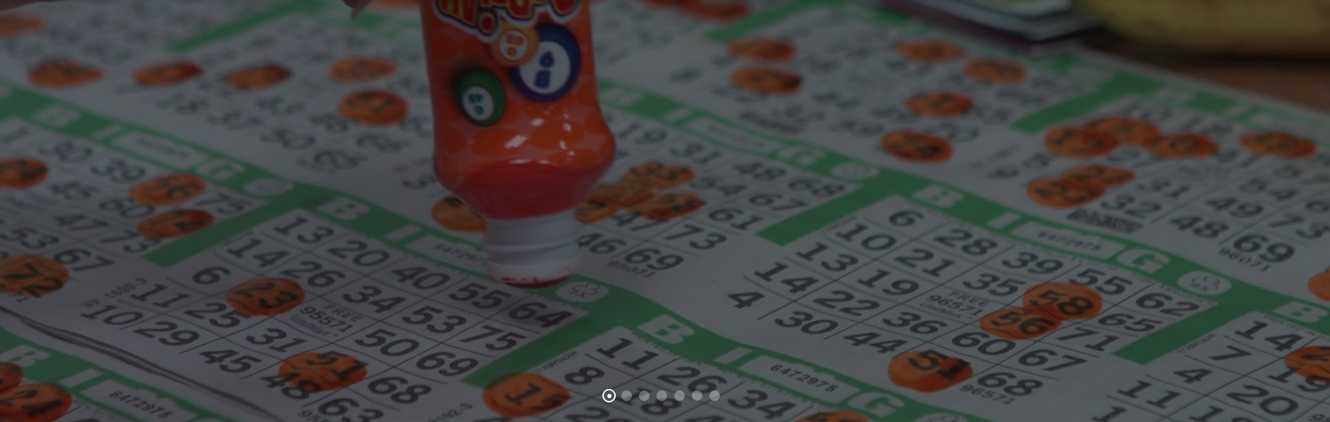 Bingo Dauber and Paper Background