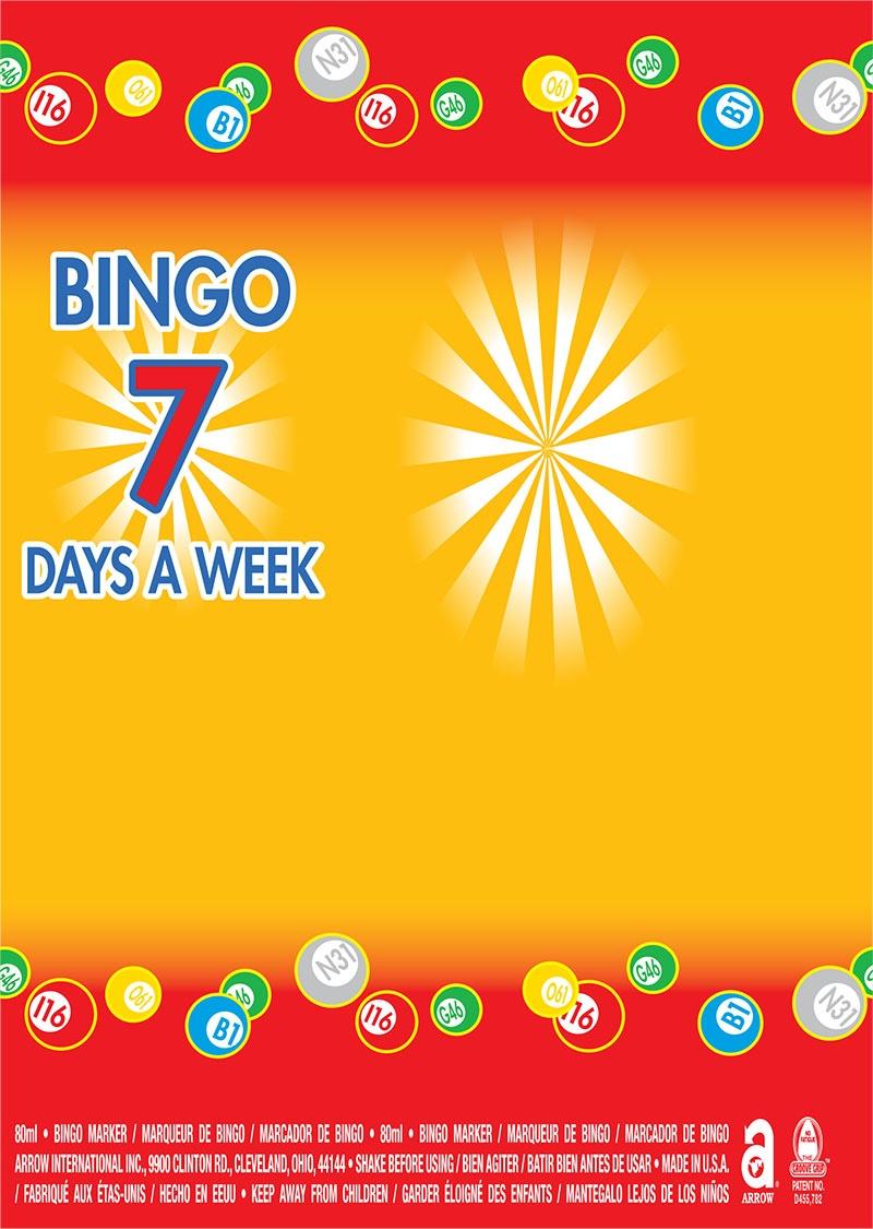 Bingo Balls / Bingo 7 Days a Week