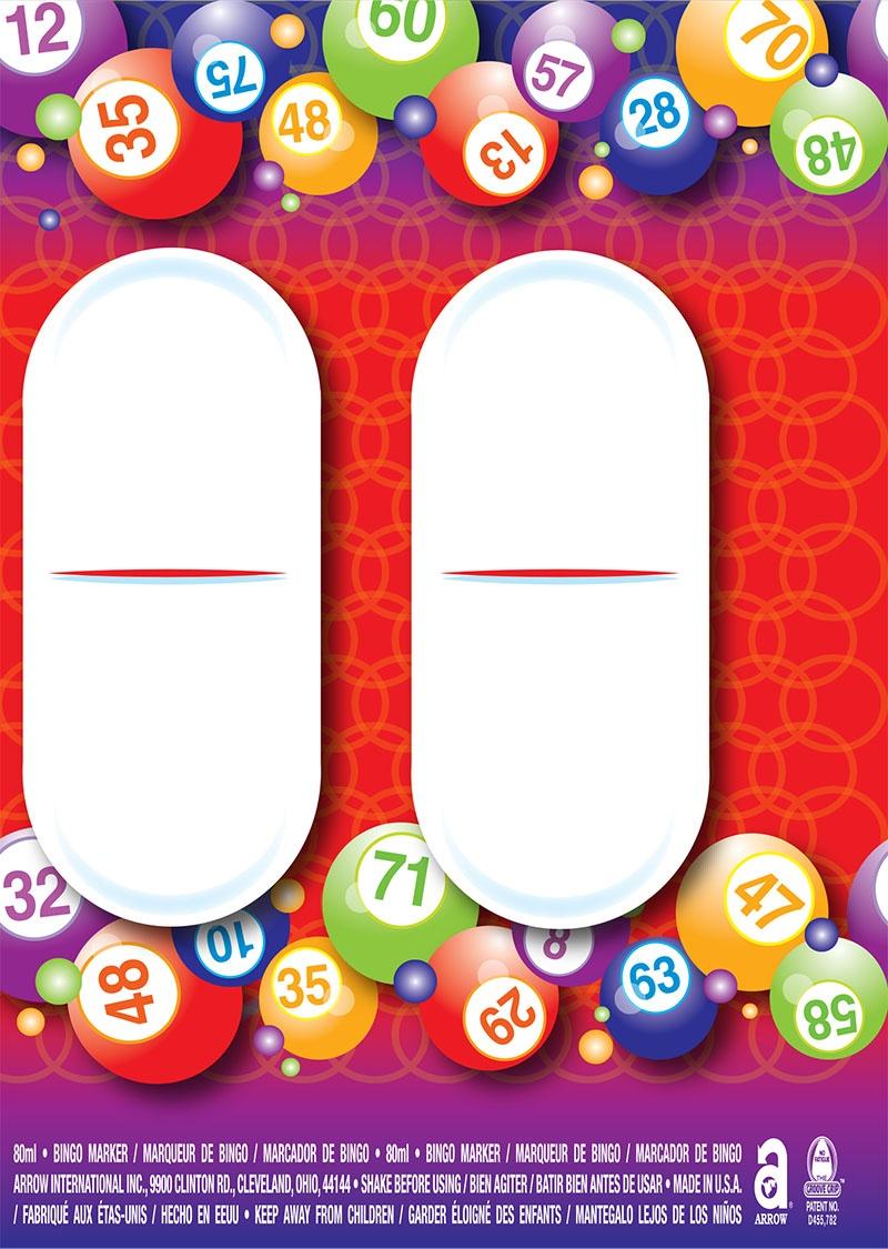 Bingo Balls / Round Labels