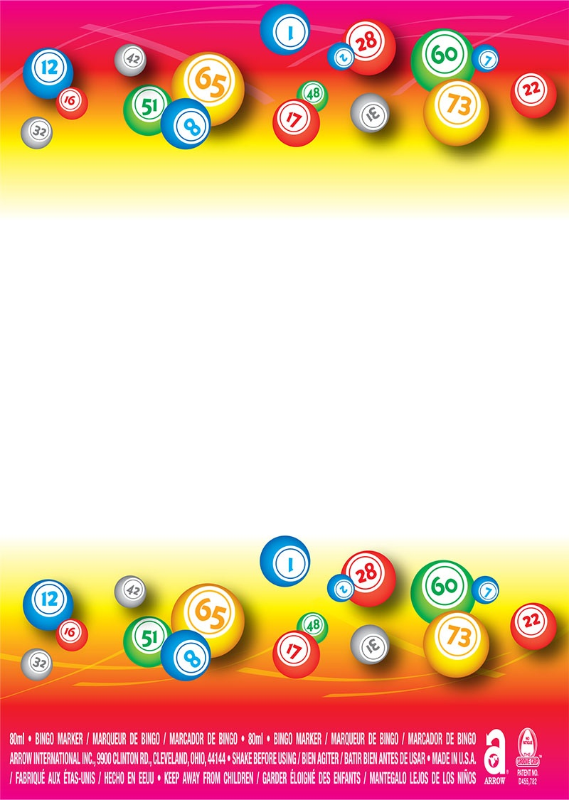 Bingo Balls / White