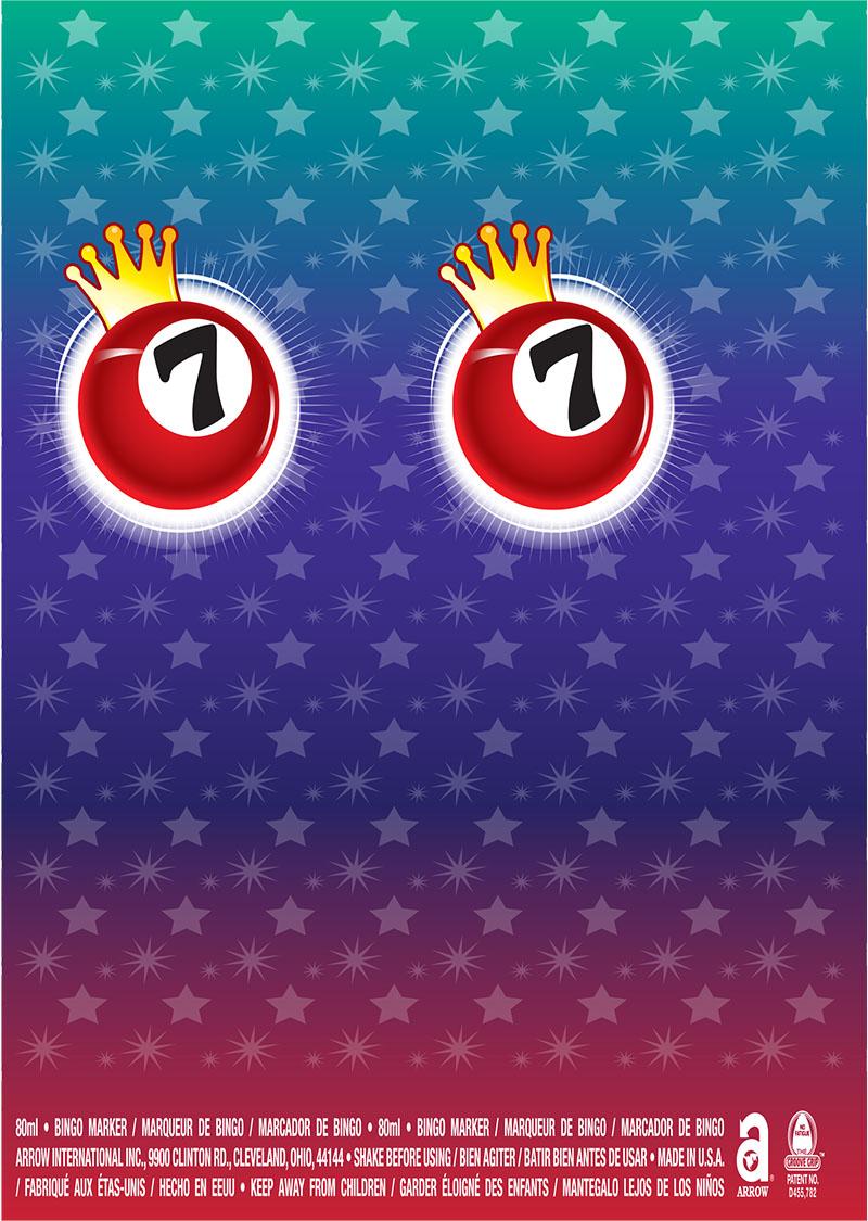 Bingo Balls / Crown