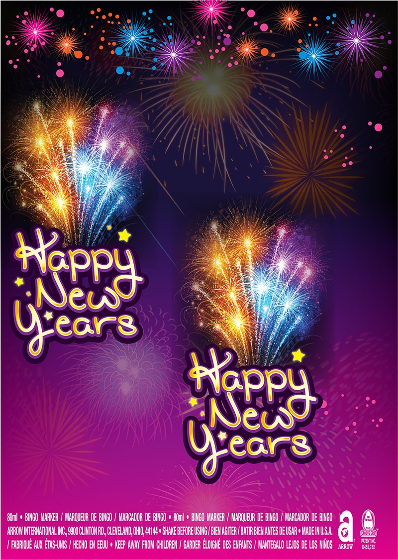 Happy New Years / Blue Stars
