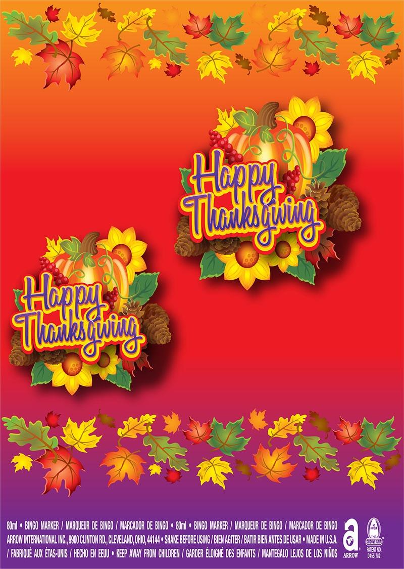Happy Thanksgiving / Turkey and Pumpkin
