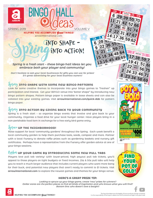 Bingo Hall Ideas
